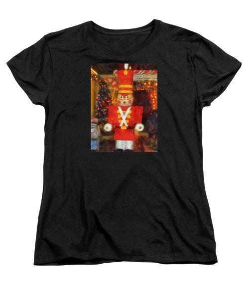 Surrender Walt Disney World Women's T-Shirt (Standard Cut) by Thomas Woolworth