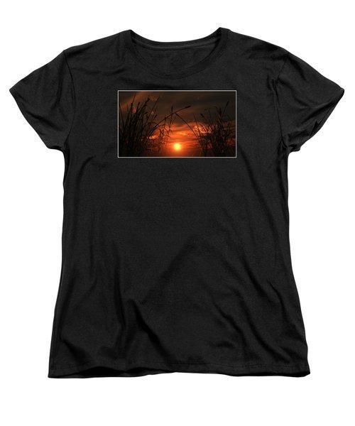 Swamp Sunset  Women's T-Shirt (Standard Cut)