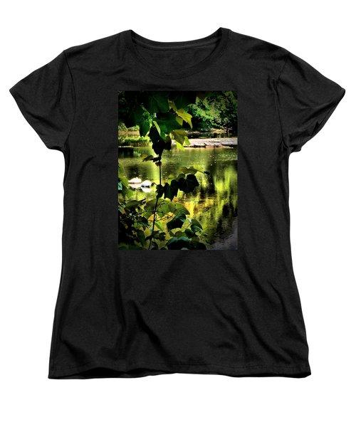 Swan Dive Women's T-Shirt (Standard Cut) by Robert McCubbin