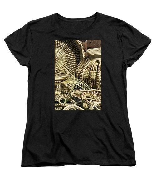 Sweetgrass Baskets - D002362 Women's T-Shirt (Standard Cut) by Daniel Dempster