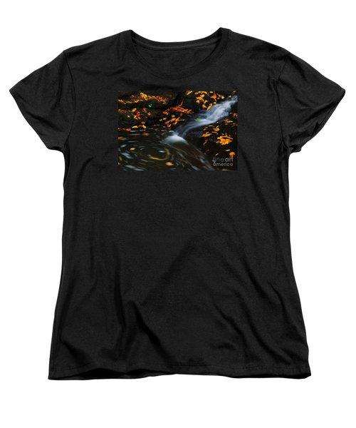 Swirls Women's T-Shirt (Standard Cut)