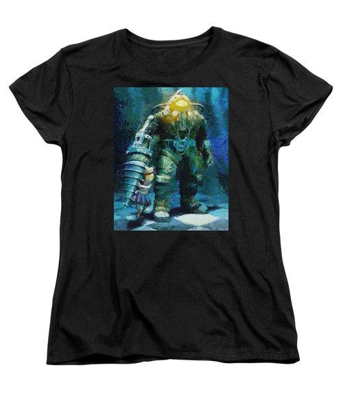 Symbiosis Women's T-Shirt (Standard Cut) by Joe Misrasi