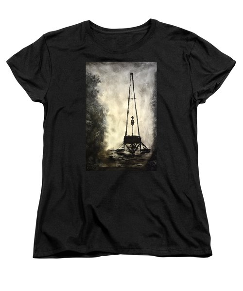 T. D. Women's T-Shirt (Standard Cut) by Shawn Marlow
