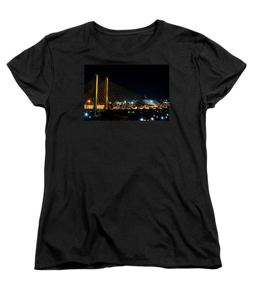 Tacoma Dome And Bridge Women's T-Shirt (Standard Cut) by Tikvah's Hope