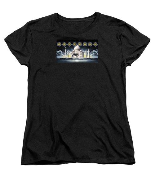 Taj Women's T-Shirt (Standard Cut) by Scott Ross