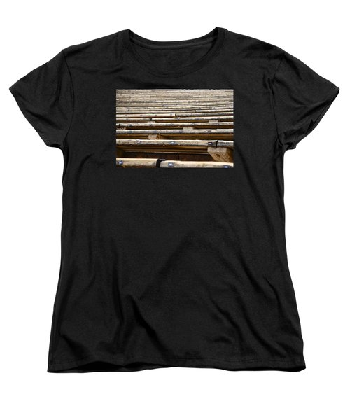 Take A Seat Women's T-Shirt (Standard Cut) by Charlie Brock