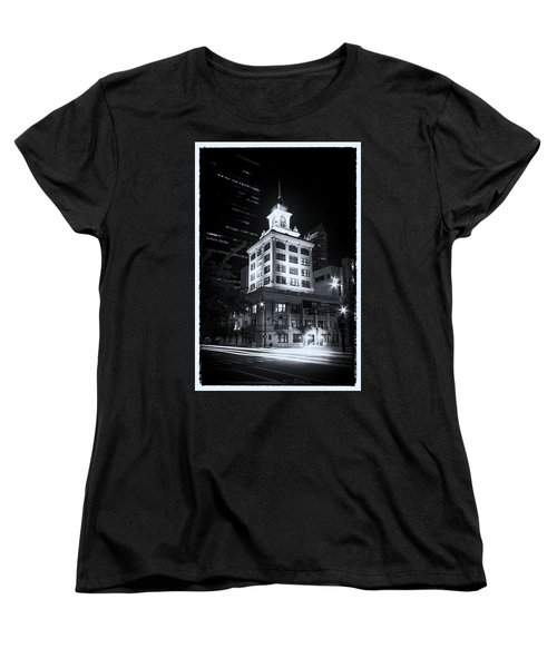 Tampa's Old City Hall Women's T-Shirt (Standard Cut) by Marvin Spates
