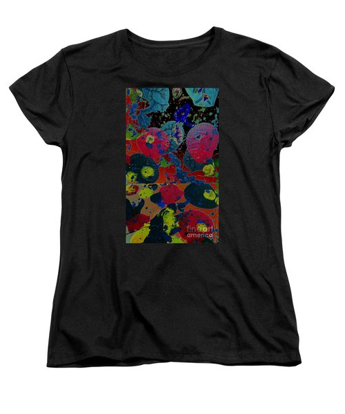 Women's T-Shirt (Standard Cut) featuring the painting Tangent by Jacqueline McReynolds