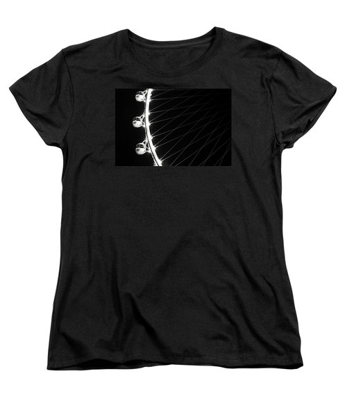 Tears On My Cheek Women's T-Shirt (Standard Cut) by Alex Lapidus