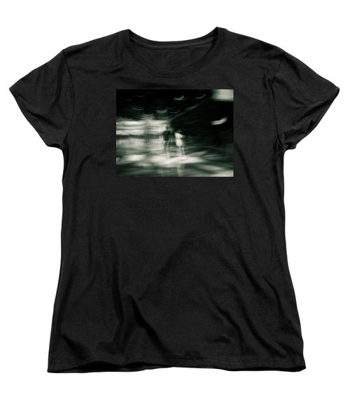 Women's T-Shirt (Standard Cut) featuring the photograph Tension by Alex Lapidus