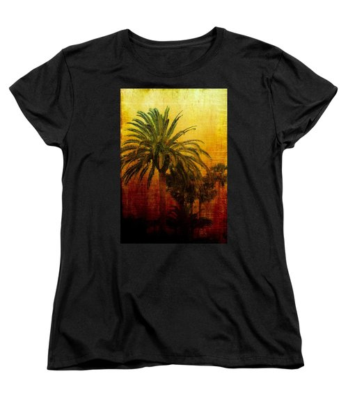 Tequila Sunrise Women's T-Shirt (Standard Cut) by Jan Amiss Photography