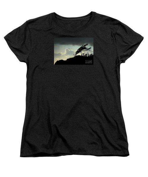 Women's T-Shirt (Standard Cut) featuring the photograph  The Test Of Time by Nick  Boren
