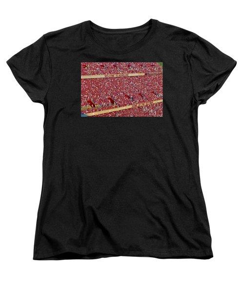 The 12th Man Women's T-Shirt (Standard Cut) by Gary Holmes
