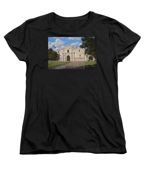 The Alamo Women's T-Shirt (Standard Cut)