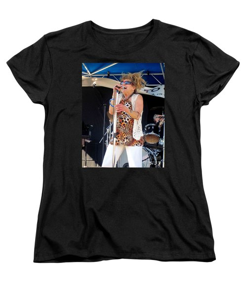 Women's T-Shirt (Standard Cut) featuring the photograph The Amazing Lydia Pense by Fiona Kennard