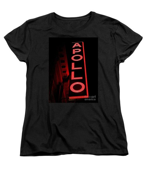 The Apollo Women's T-Shirt (Standard Cut) by Ed Weidman