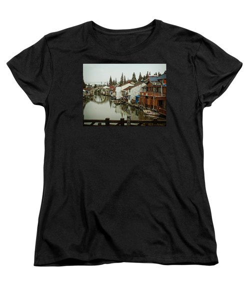 The Asian Venice  Women's T-Shirt (Standard Cut) by Lucinda Walter