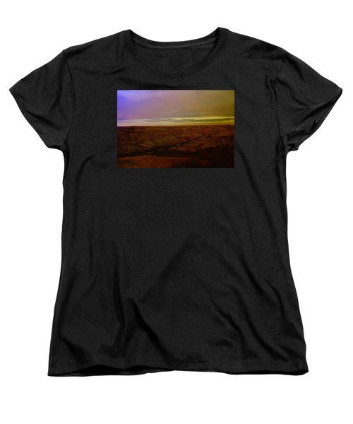 The Badlands Women's T-Shirt (Standard Cut) by Jeff Swan