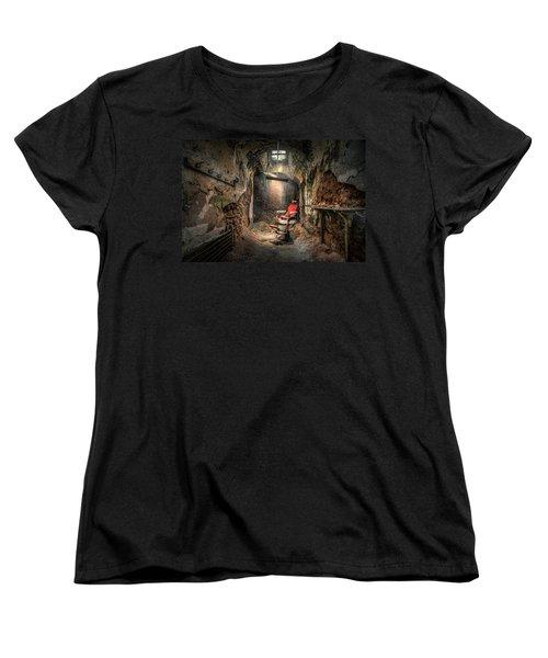 The Barber's Chair -the Demon Barber Women's T-Shirt (Standard Cut)
