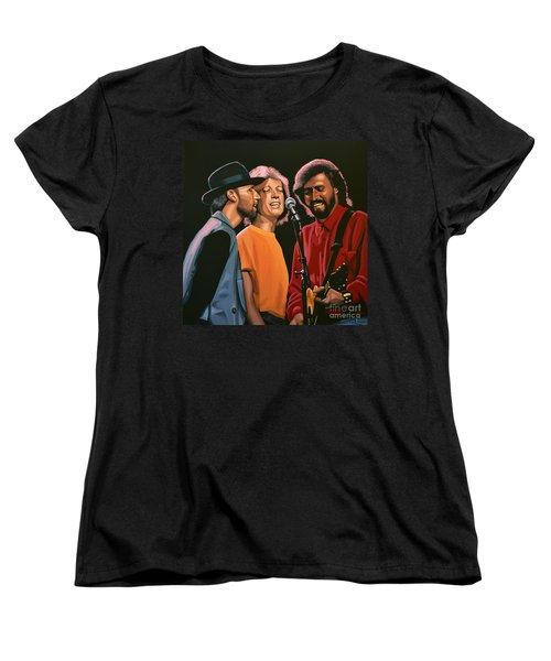 The Bee Gees Women's T-Shirt (Standard Cut) by Paul Meijering