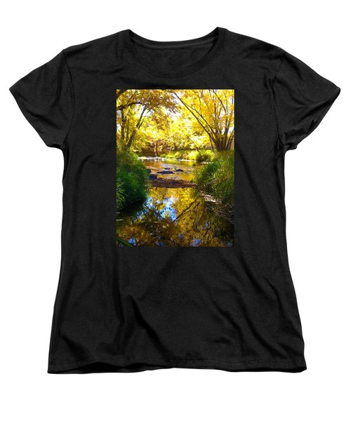 The Calm Side Women's T-Shirt (Standard Cut) by Tiffany Erdman