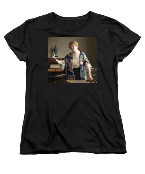 The Canary Women's T-Shirt (Standard Cut) by William McGregor Paxson