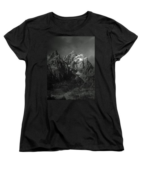 Women's T-Shirt (Standard Cut) featuring the photograph The Cathedral Group by Raymond Salani III
