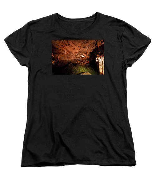 The Cave Women's T-Shirt (Standard Cut) by Bill Howard