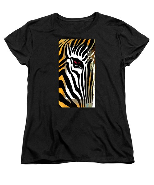 Women's T-Shirt (Standard Cut) featuring the photograph The Center by I'ina Van Lawick