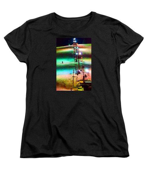 The Color  Of Fun  Women's T-Shirt (Standard Cut) by Susan  McMenamin