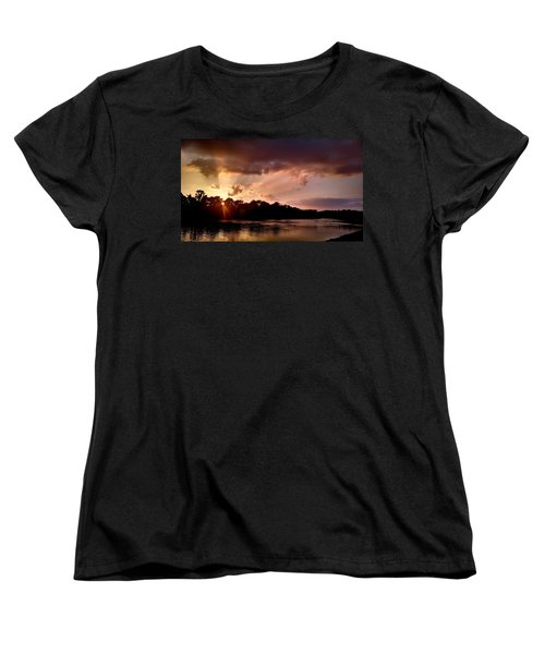 Women's T-Shirt (Standard Cut) featuring the photograph The Cumberland River by Chris Tarpening