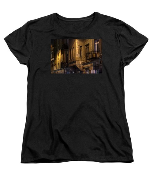 The Dark Side Women's T-Shirt (Standard Cut) by Nathan Wright