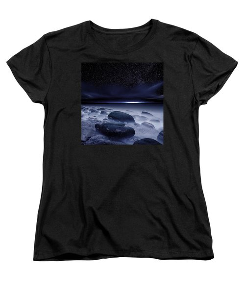 The Depths Of Forever Women's T-Shirt (Standard Cut) by Jorge Maia