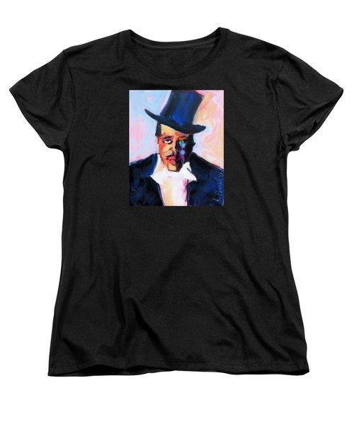 The Duke Women's T-Shirt (Standard Cut) by Les Leffingwell