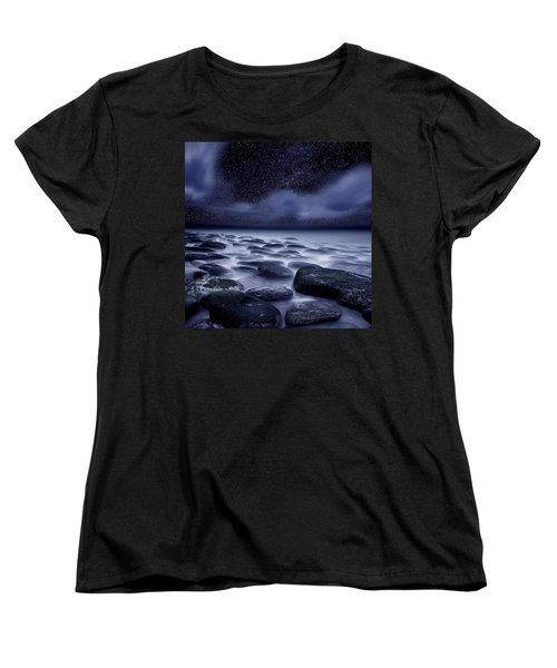 The Edge Of Forever Women's T-Shirt (Standard Cut) by Jorge Maia