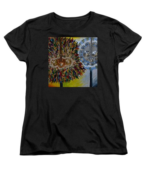 The Egungun Women's T-Shirt (Standard Cut) by Apanaki Temitayo M