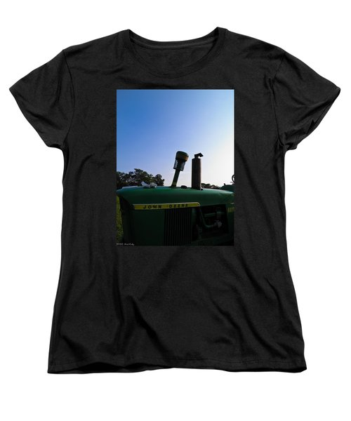 The End Of A Long Day Women's T-Shirt (Standard Cut) by Nick Kirby