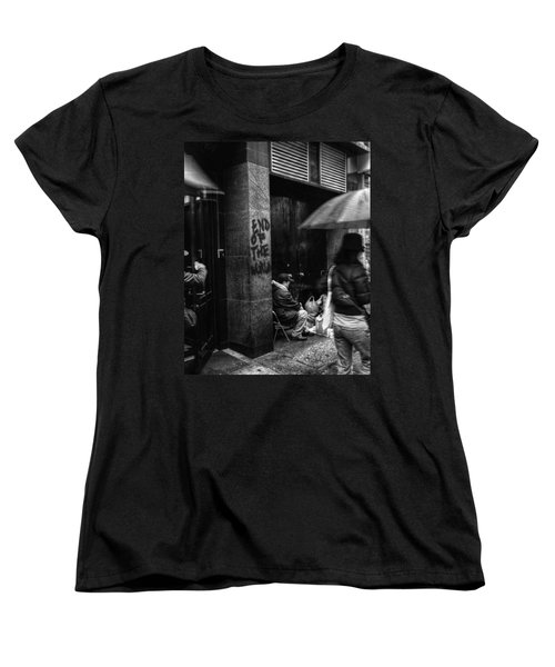 The End Of The World Women's T-Shirt (Standard Cut) by Linda Unger