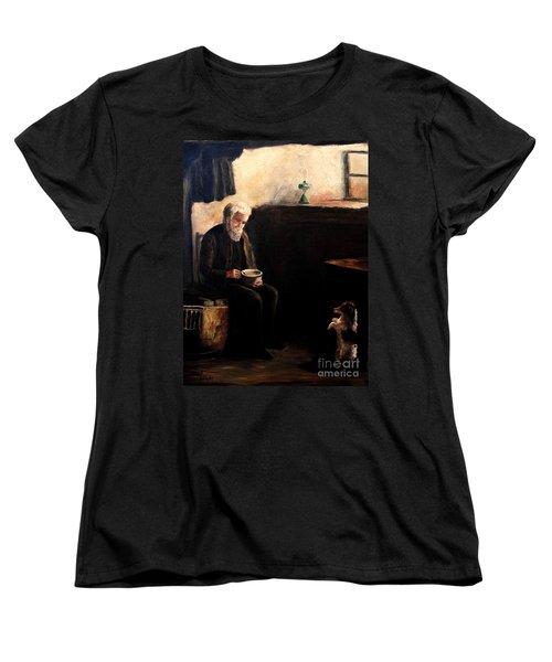 The Evening Meal Women's T-Shirt (Standard Cut) by Hazel Holland