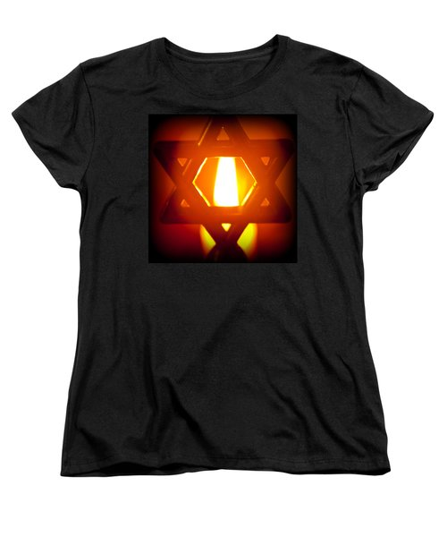 The Fire Within Women's T-Shirt (Standard Cut) by Tikvah's Hope