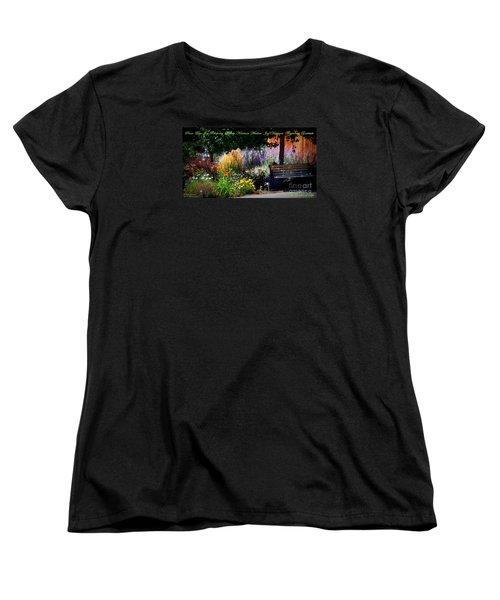 The Garden Of Life Women's T-Shirt (Standard Cut) by Bobbee Rickard