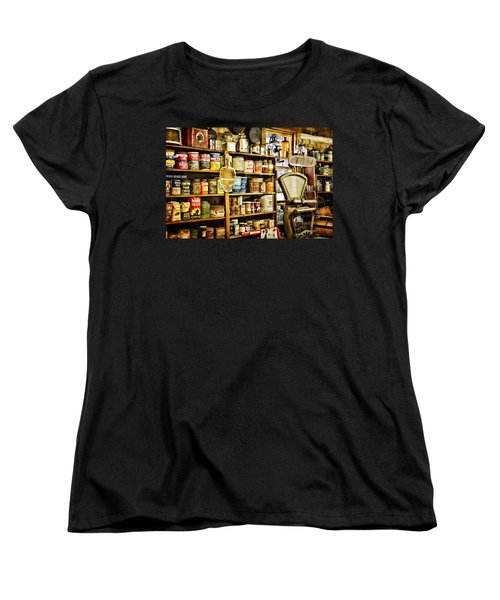 Women's T-Shirt (Standard Cut) featuring the photograph The General Store by Lana Trussell