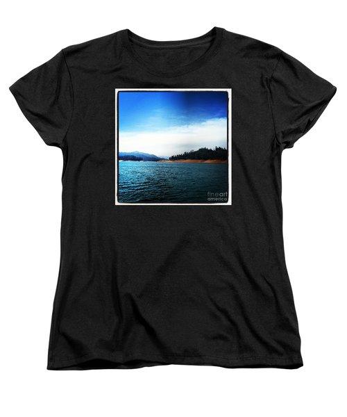 Women's T-Shirt (Standard Cut) featuring the photograph The Getaway by Luther Fine Art