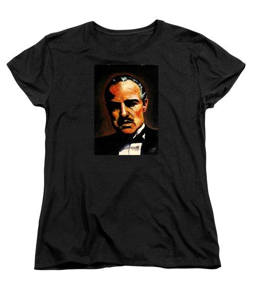Godfather Women's T-Shirt (Standard Cut) by Salman Ravish