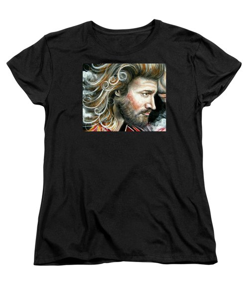 The Greatest Man In The World Women's T-Shirt (Standard Cut) by Patrice Torrillo
