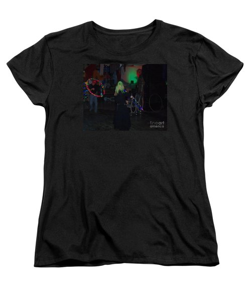 The Groupies Women's T-Shirt (Standard Cut) by Kelly Awad