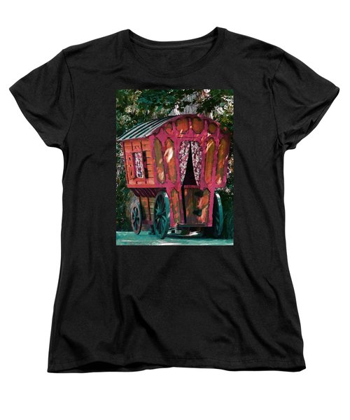 The Gypsy Caravan  Women's T-Shirt (Standard Cut) by Steve Taylor