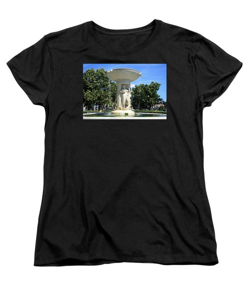 The Heart Of Dupont Circle Women's T-Shirt (Standard Cut) by Cora Wandel