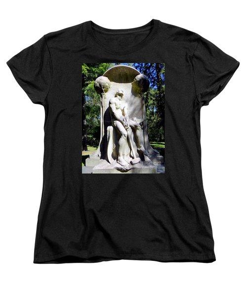 The Henry Villard Memorial Women's T-Shirt (Standard Cut) by Ed Weidman