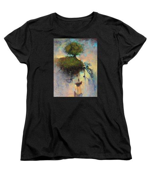 The Hiding Place Women's T-Shirt (Standard Cut) by Joshua Smith
